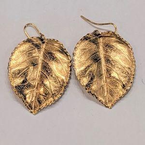 Jewelry - Vintage Leaf Earrings Fall Autumn Earrings